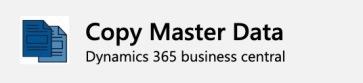 Copy Master Data